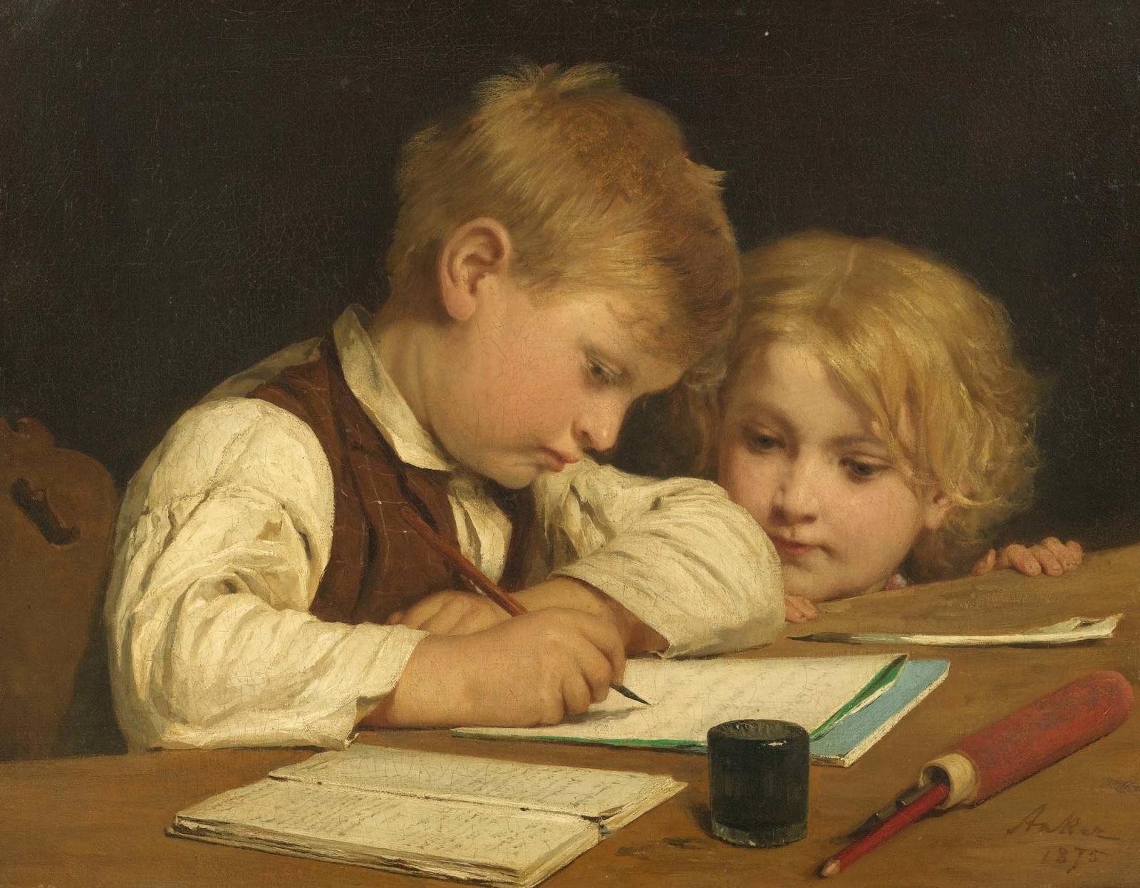 Картинка писатели в школе